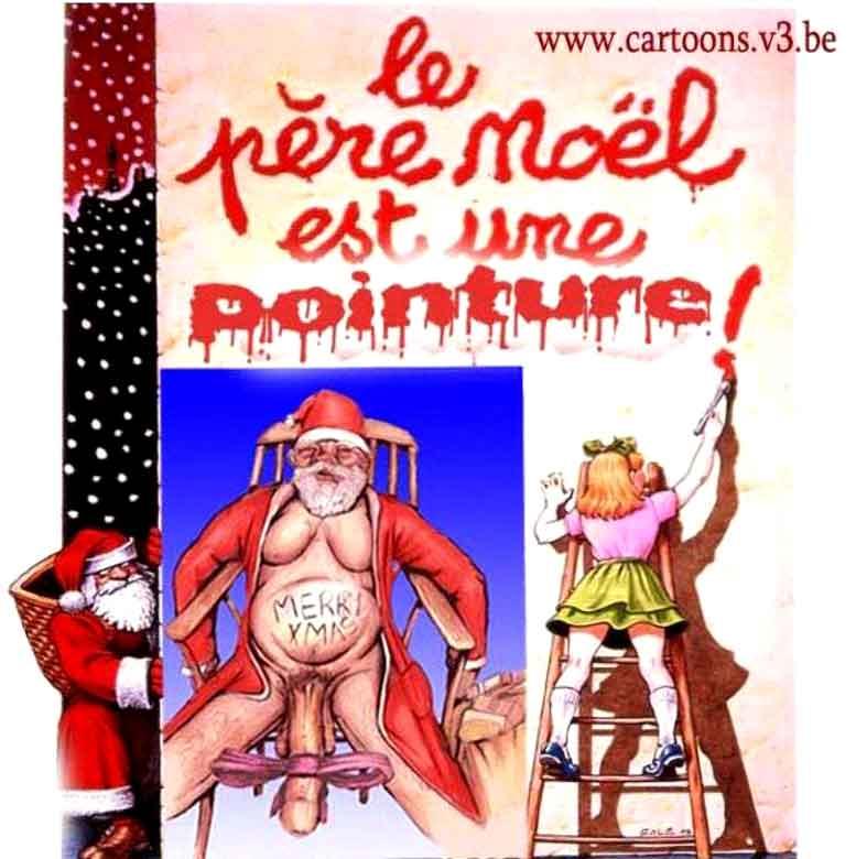 Concours d'avatars de Noël 2018 : mieux vaut tard que jamais - Page 2 Pere-noel
