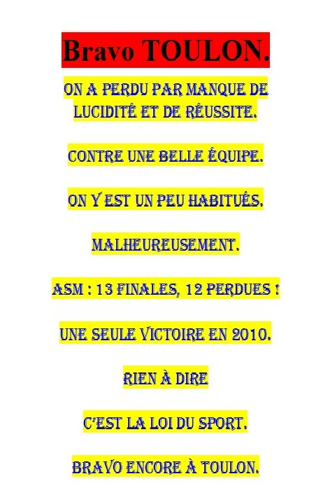 VIVE LE RUGBY !!! - Photos Humour