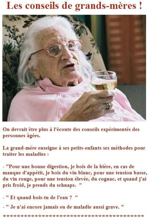Rem des de grand m re photos humour - Remede de grand mere pour nettoyer le foie ...