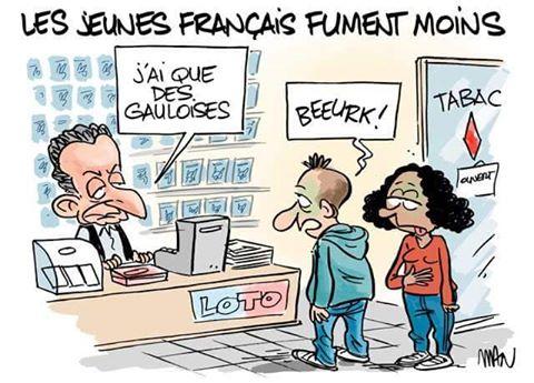 Photos Humour : les jeunes français