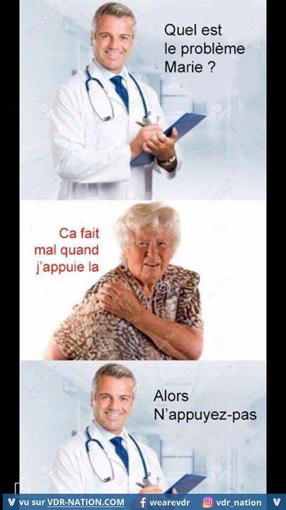 Bonjour Docteur - Photos Humour