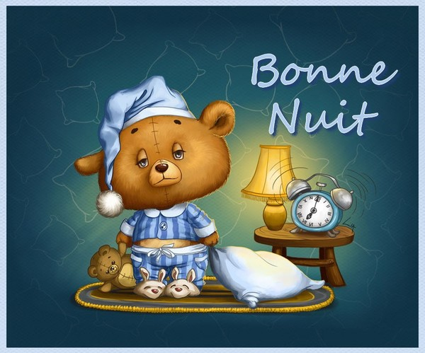 BON VENDREDI....Bonne fin de semaine à vous tous.... Bonne-nuit-balou