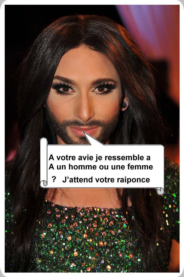 conchita-wurst - Photos Humour