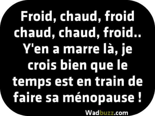 Froid, chaud, froid, chaud - Photos Humour