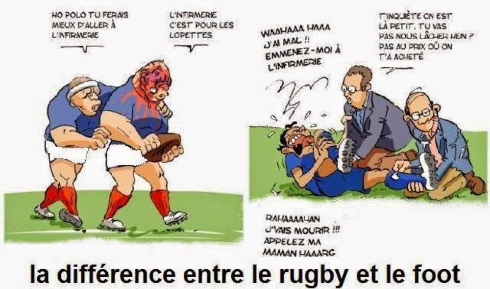 rugby vs foot - Photos Humour