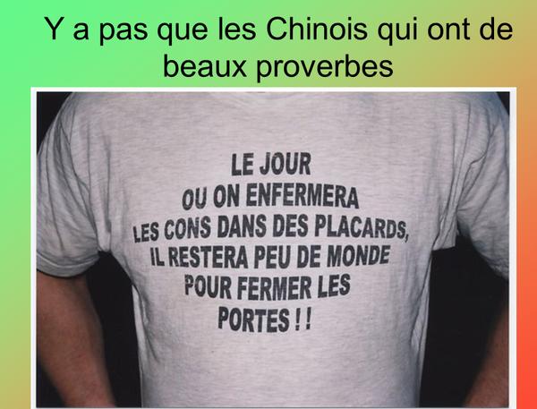 proverbe - Photos Humour