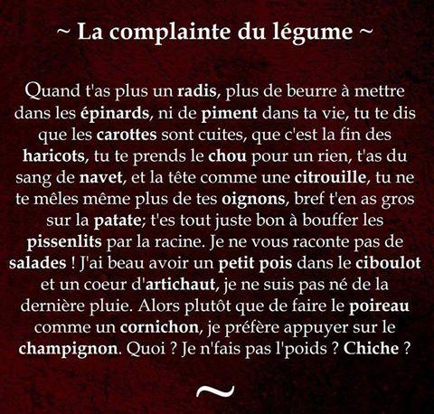 La complainte  - Photos Humour