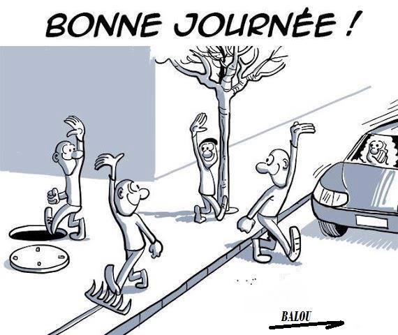 BONJOUR A TOUS   👾  - Photos Humour