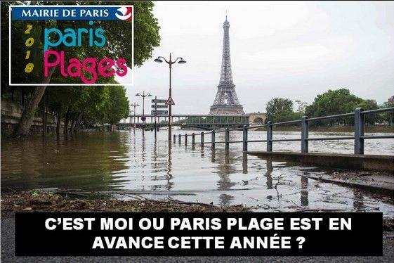 Paris plage - Photos Humour