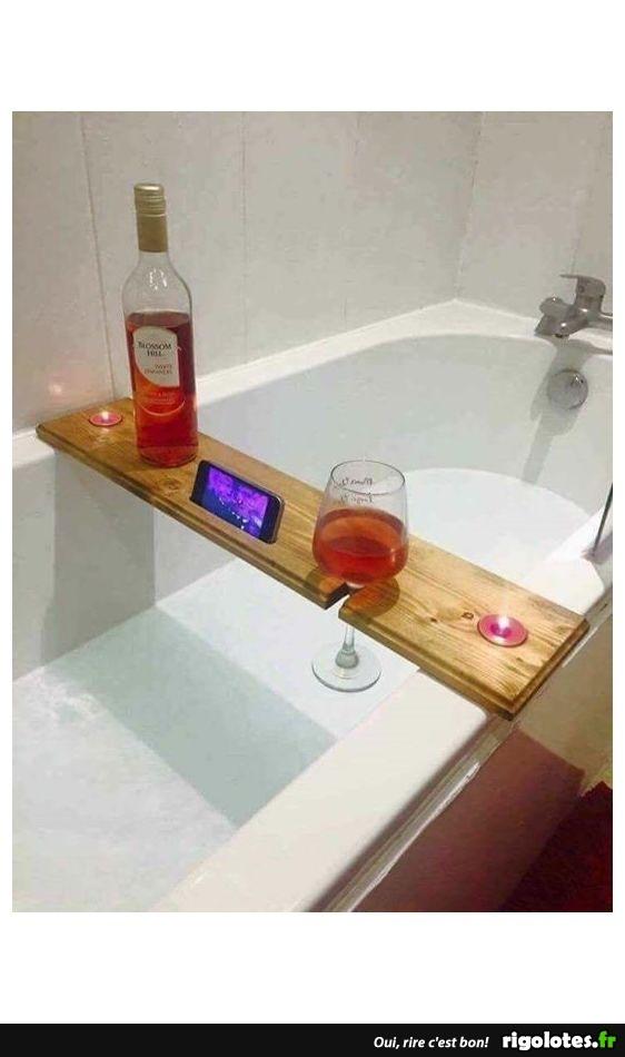 un bon bain - Photos Humour