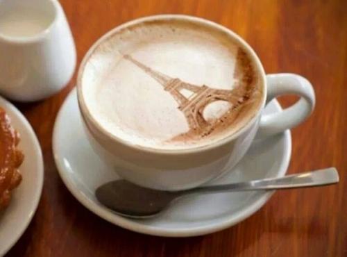 Le café Parisien ., sourire - Photos Humour