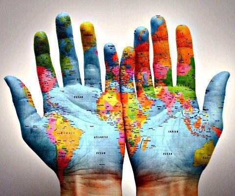 Notre monde dans tes mains ...... - Photos Humour