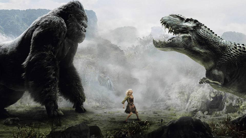 Photos Humour : King Kong contre Godzilla pour sauve sa copine