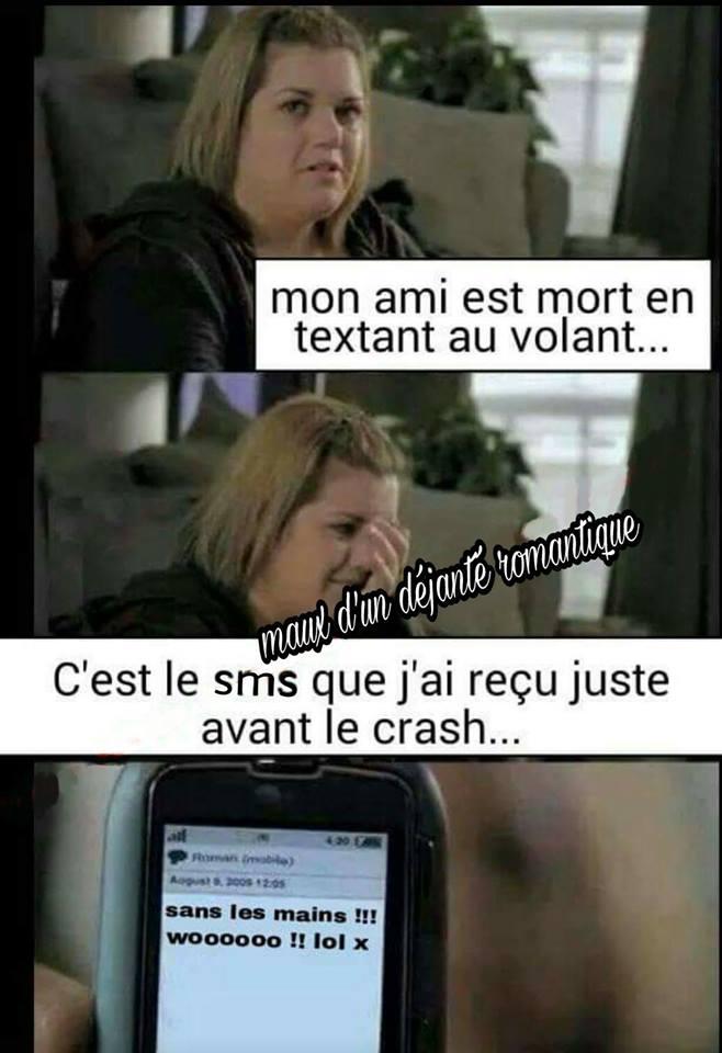 Photos Humour : le SMS...
