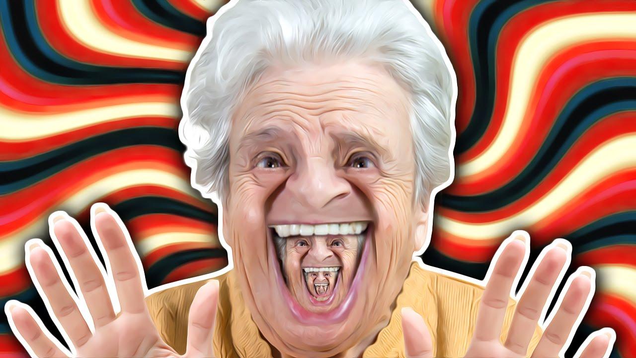 Photos Humour : Photo vielle homme étrange