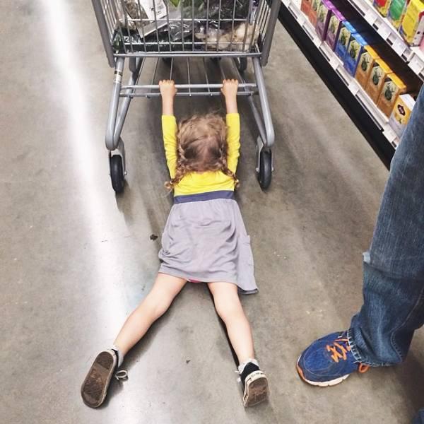Photos Humour : Non non , je veux pas ? ...