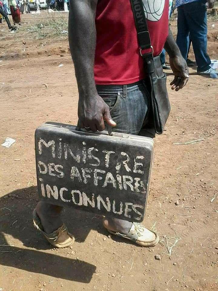 Photos Humour : nouveau ministre