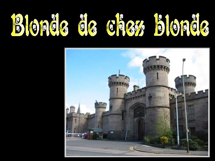 Blague blonde condamnée à mort - PPS Humour