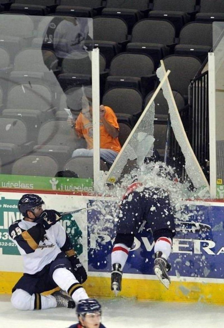 Photos Humour : Le hockey c