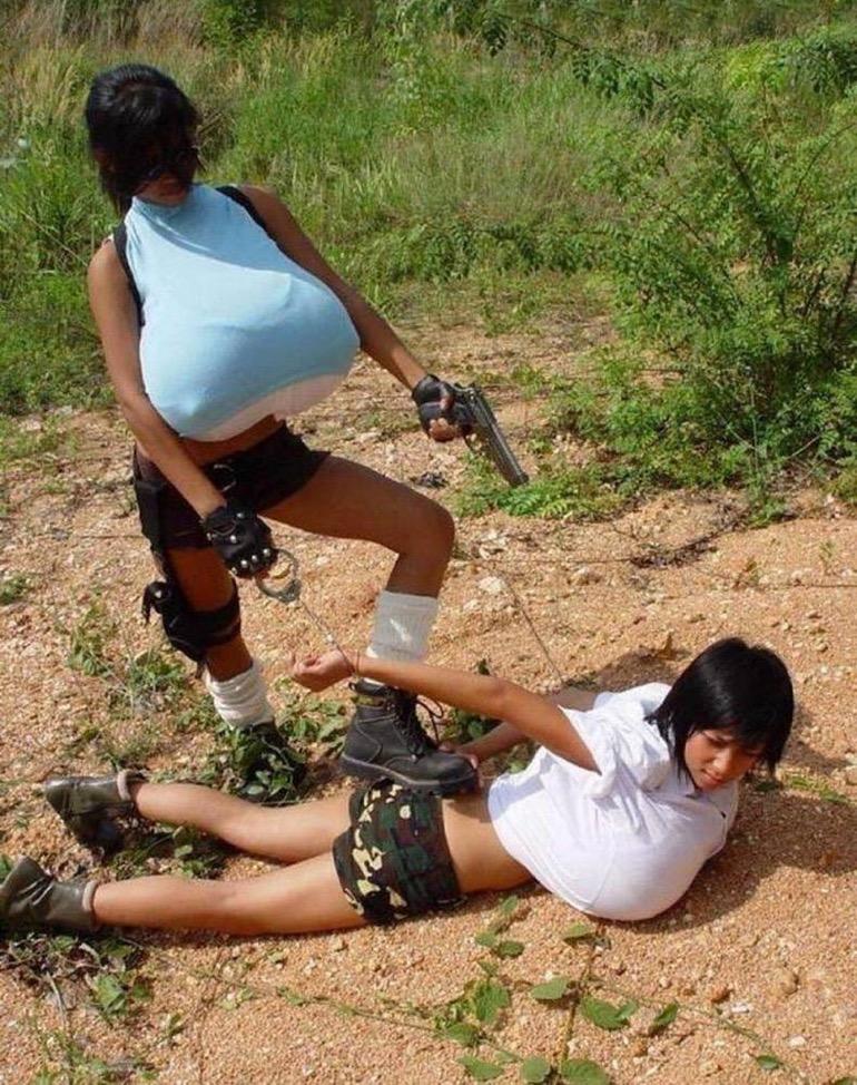 Photos Humour : Arrestation  ? …