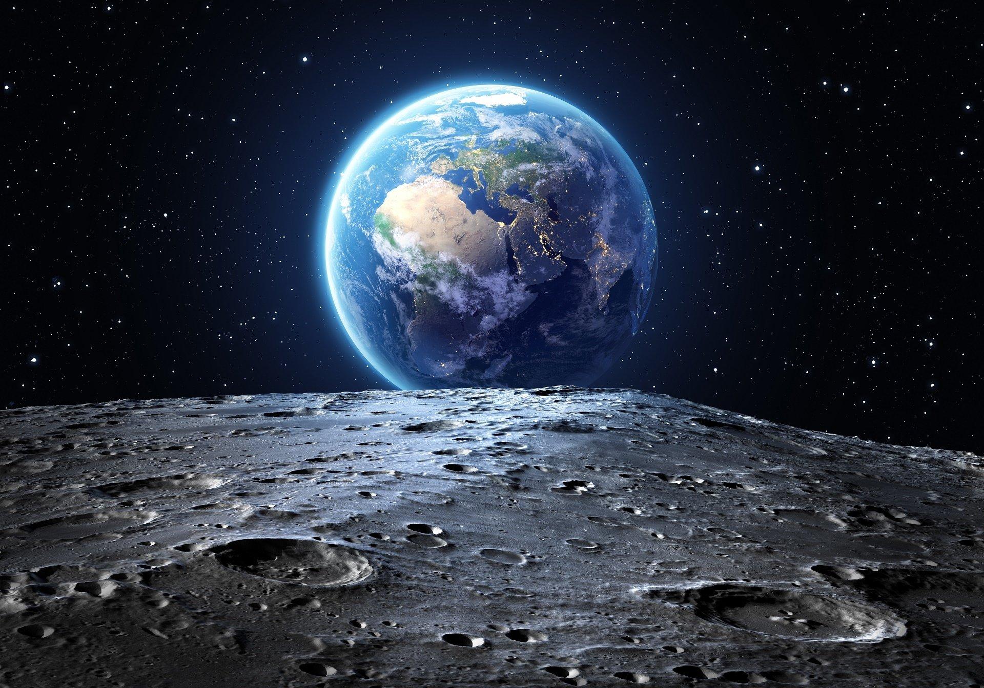 Photos Humour : benne soirée et bonne nuit  de la lune les terrien
