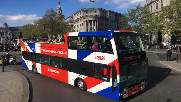 Photos Humour : Je vais visite Londres en bus
