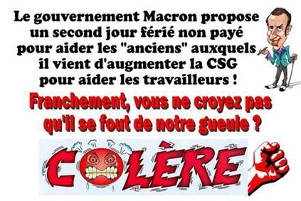 Photos Humour : Macron...