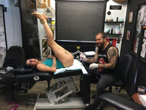 Photos Humour : tatoueur