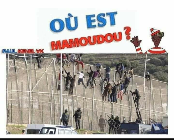 Photos Humour : tous prêts comme Mammadou