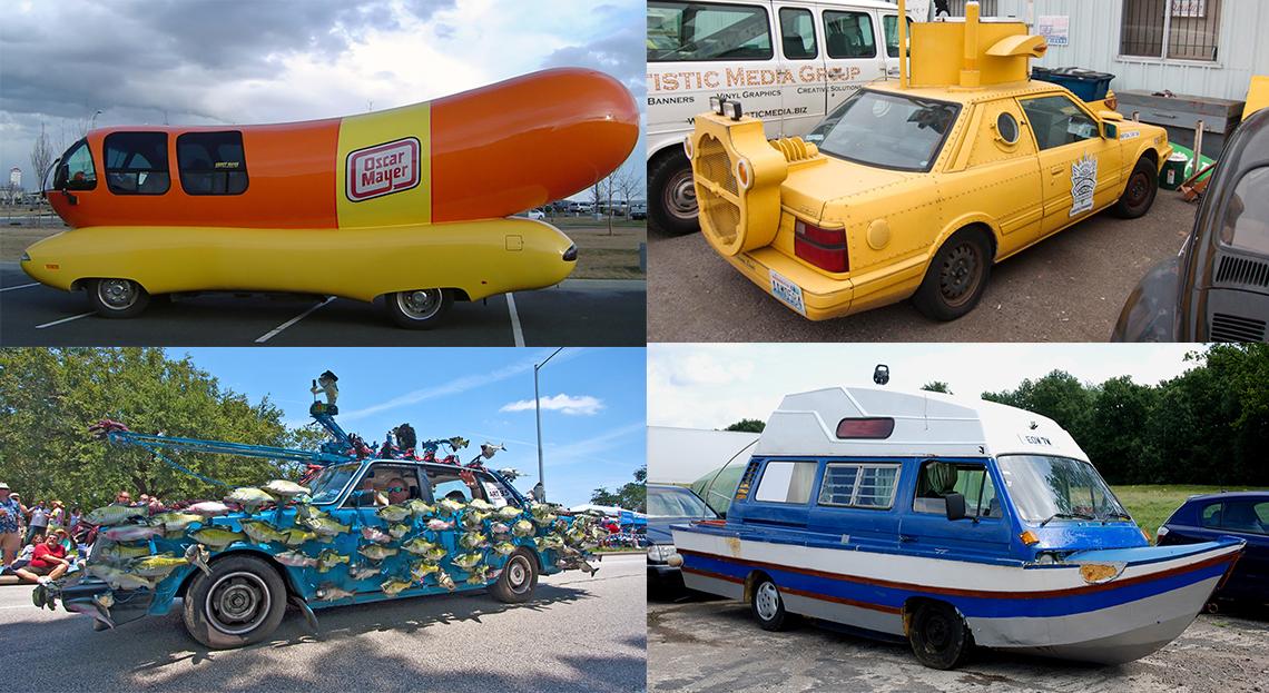 Photos Humour : voiture insolites