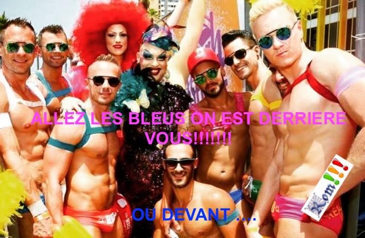 Photos Humour : Allez les Bleus