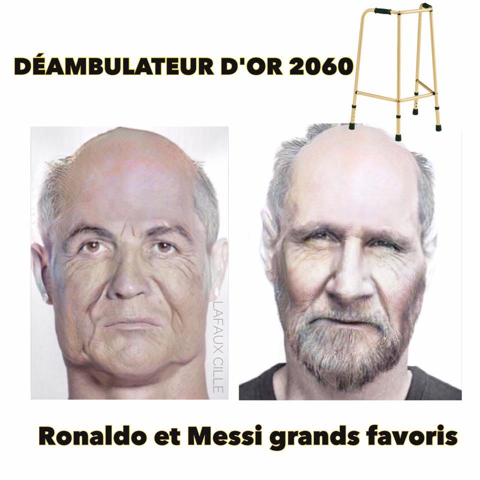 Photos Humour : Ronaldo ou Messi