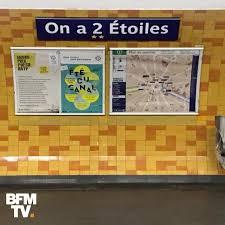 Photos Humour : Une station de métro de Paris