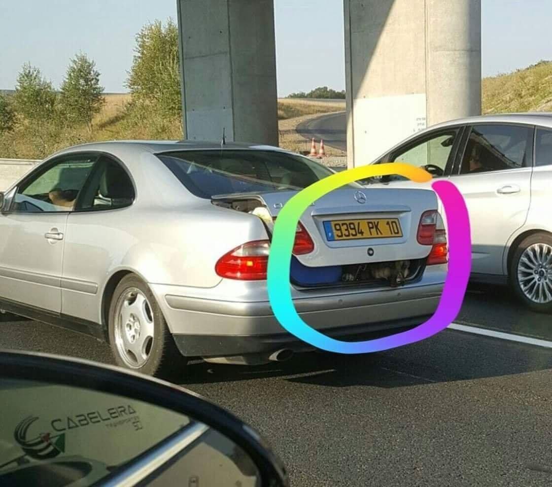 Photos Humour : Autoroute A10 ... Honteux !!!!