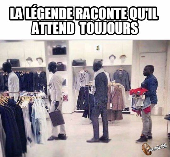 Photos Humour : Il attend toujours...