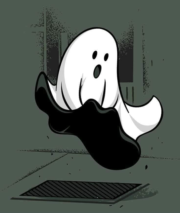 Photos Humour : Le fantôme de Marilyn
