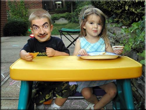 Photos Humour : père et fille