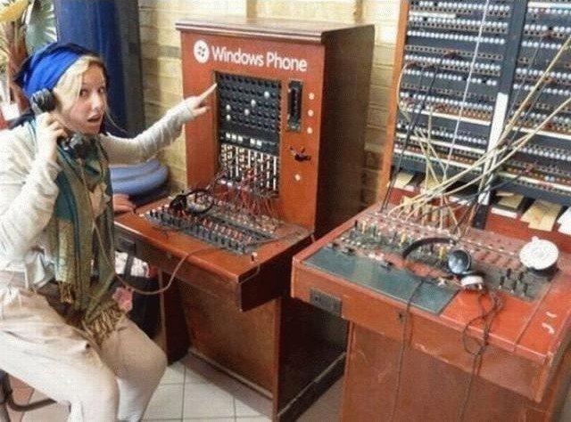 Photos Humour : central téléphonique