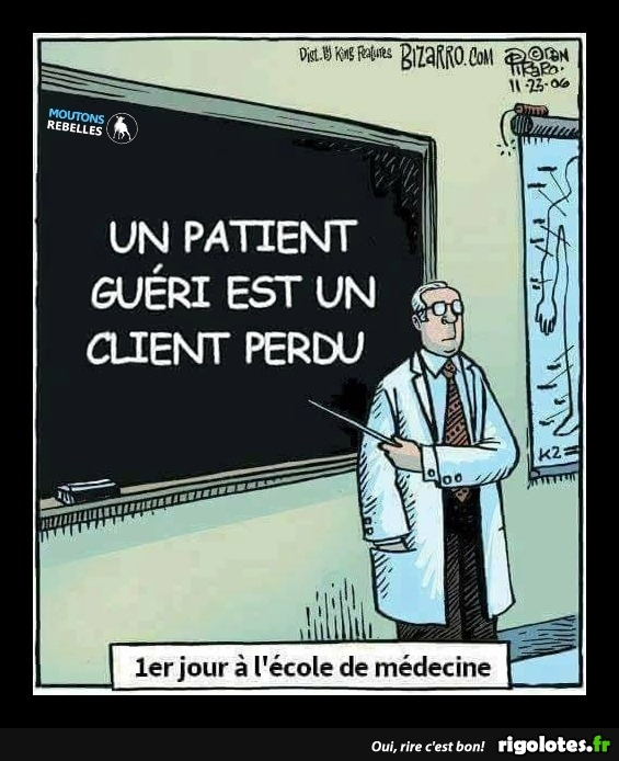 Photos Humour : patient guéri
