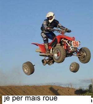 Photos Humour : a mais roue