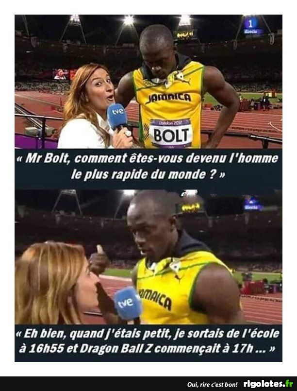 Photos Humour : BOLT