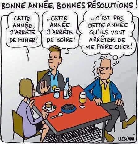Photos Humour : Bonne Année - Bonnes résolutions