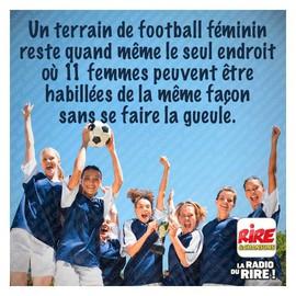 Photos Humour : foot féminin