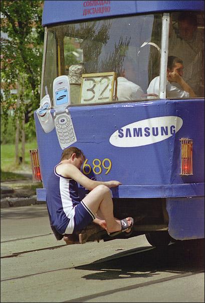 Photos Humour : je prrend le bus
