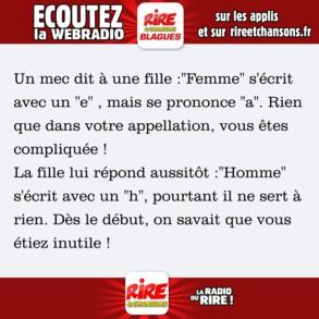 Photos Humour : femme / homme