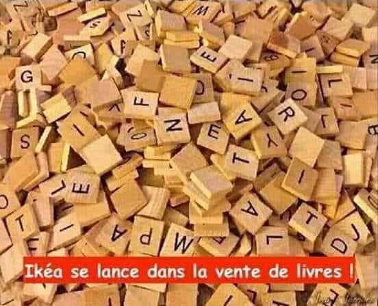 Photos Humour : livre IKEA
