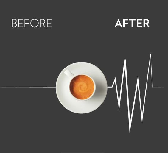 Photos Humour : Before - After Le café est prêt ????????