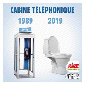 Photos Humour : cabine téléphonique
