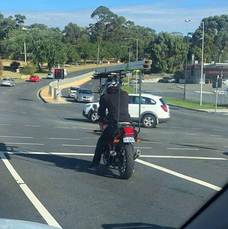 Photos Humour : galerie pour moto