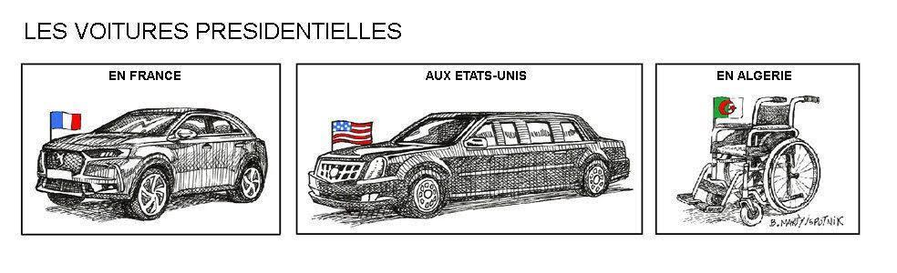 Photos Humour : les voitures présidentielles